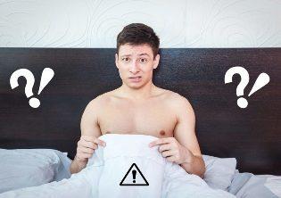Kaip padėti vyrui, turinčiam erekcijos problemų?